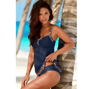 Swimwear 2019 Sexy Swimsuit Women Plus Size Tankini Sets Swim Vintage Beach Wear Bathing Suits Female Bandage Monokini Swim Suit