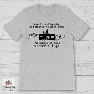 Always At Home camping shirt [product_color] - Common Connection