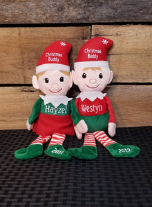 Personalized Santa's Buddy Elf
