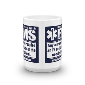 Grumpy Old Medic - 14 ga. IV - Mug [product_color] - Common Connection