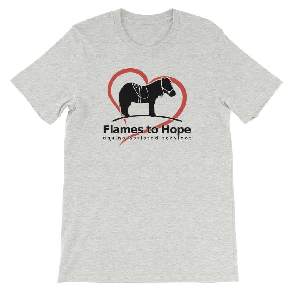 Flames to Hope T-shirt [product_color] - Common Connection