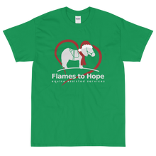 Load image into Gallery viewer, Flames to Hope Christmas T-shirt
