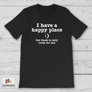 Happy Place shirt [product_color] - Common Connection