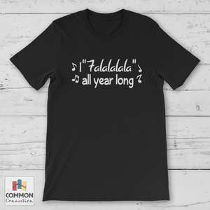 I Falalalala - shirt [product_color] - Common Connection