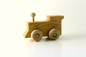 Wood Train Engine [product_color] - Common Connection