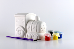 Paint Your Own Train Bank [product_color] - Common Connection