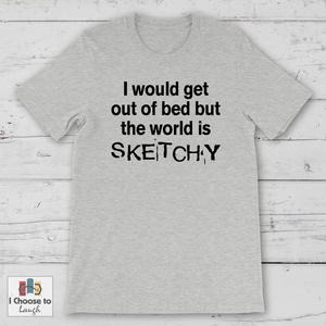 The World is Sketchy shirt [product_color] - Common Connection