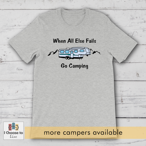 Go Camping t-shirt [product_color] - Common Connection