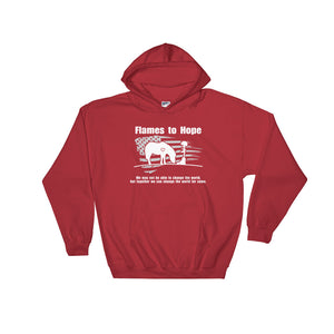 "Flames to Hope ""Change The World"" - Hoodie [product_color] - Common Connection"