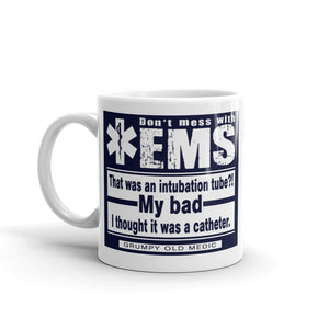 Grumpy Old Medic - My Bad - Mug [product_color] - Common Connection
