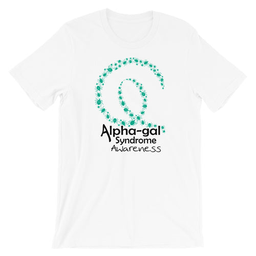Alpha-gal Awarness Tick Ribbon Shirt [product_color] - Common Connection