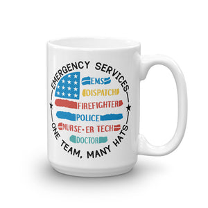 One Team, Many Hats - Mug [product_color] - Common Connection