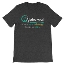 Load image into Gallery viewer, Alpha-gal Awareness - It Changes Your Life - Shirt [product_color] - Common Connection