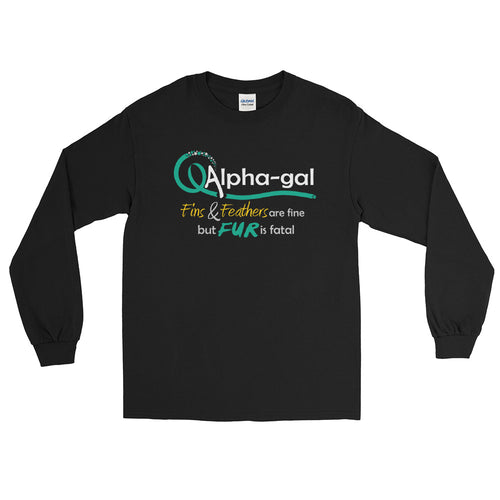 Alpha-gal Awareness - Fur is Fatal - Long Sleeve Shirt [product_color] - Common Connection