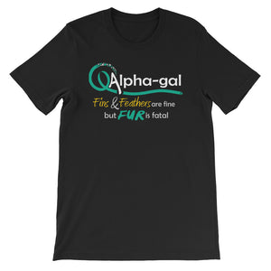 Alpha-gal Awareness - Fur is Fatal - Shirt [product_color] - Common Connection
