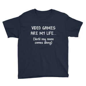 Video Games Are My Life - Youth T-Shirt [product_color] - Common Connection