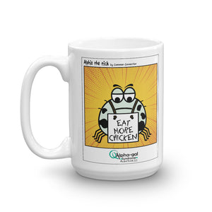 Alphie - Eat More Chicken - Mug [product_color] - Common Connection
