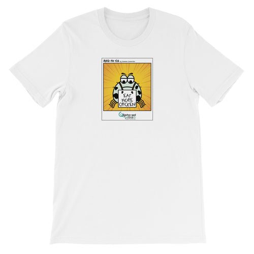 Alphie - Eat More Chicken - Shirt [product_color] - Common Connection