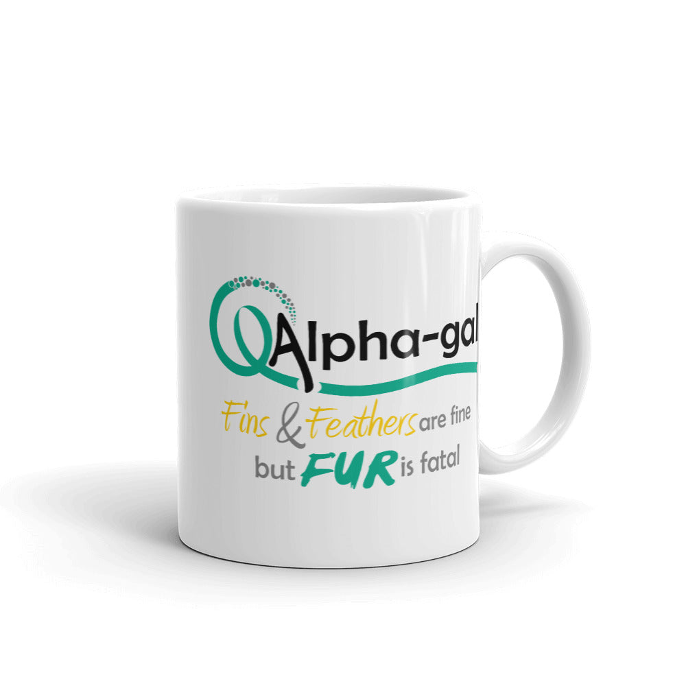 Alpha-gal Awareness - Fur is Fatal - Mug [product_color] - Common Connection