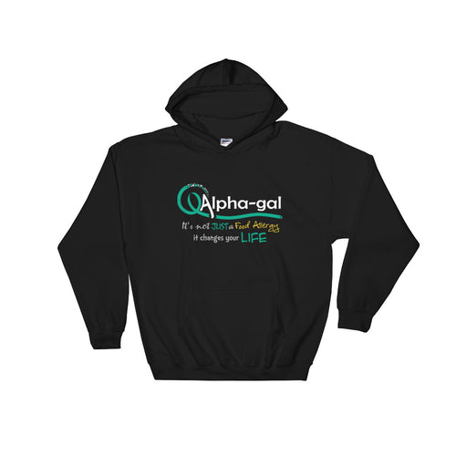 Alpha-gal Awareness - It Changes Your Life - Hoodie [product_color] - Common Connection