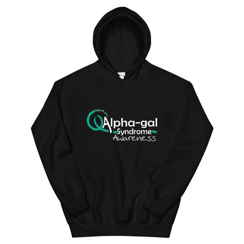 Alpha-gal Awareness Ribbon 1 - Hoodie [product_color] - Common Connection