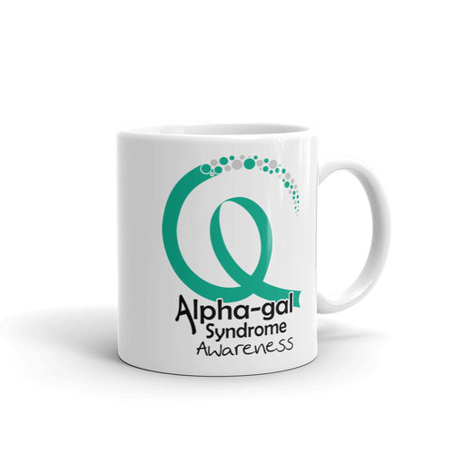 Alpha-gal Awareness Ribbon 2 - Mug [product_color] - Common Connection