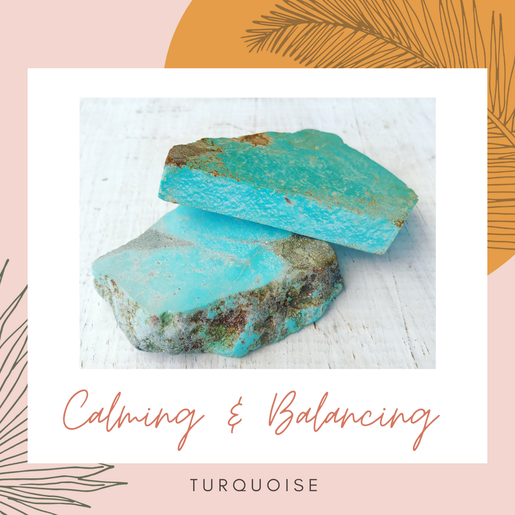 Turquoise for Calming and Grounding