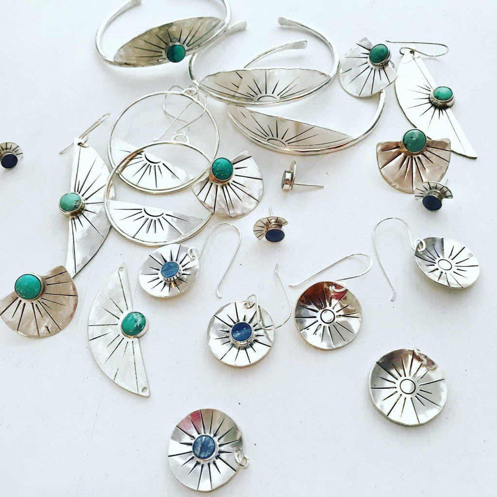 The Solana Collection: Silver and Turquoise
