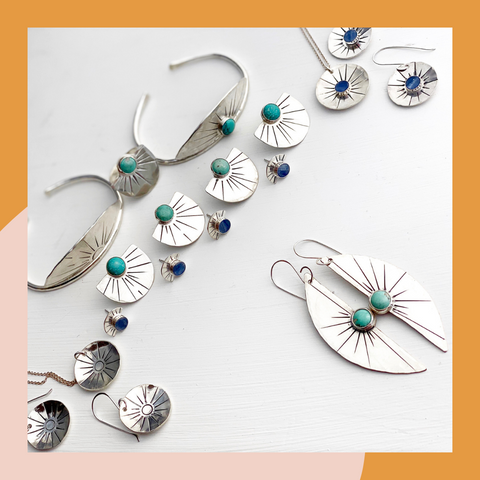 Solana Turquoise and Silver Collection
