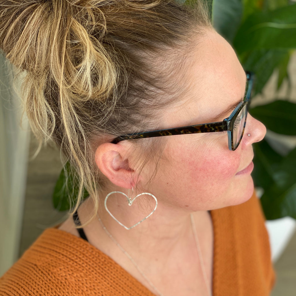 I Heart Hoop Earrings-All Products-Betina Roza