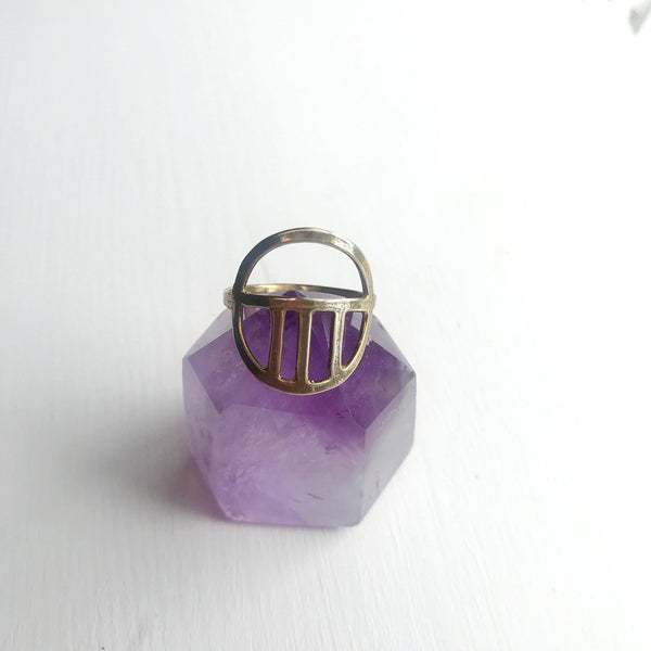 Deco Ring-Betina Roza