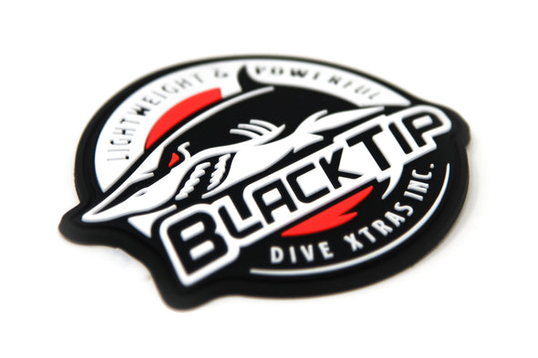 BlackTip Logo Patch