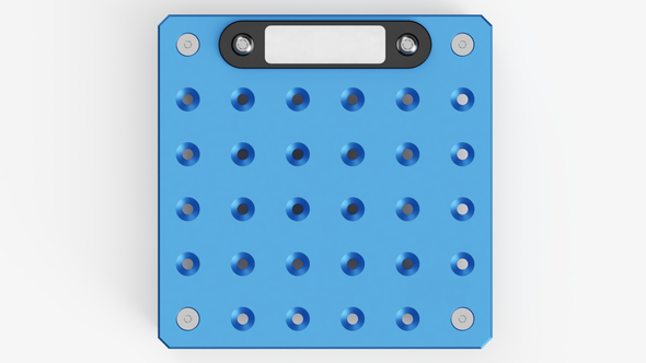 BASEPLATE, 100 SERIES, SIZE: 6-6