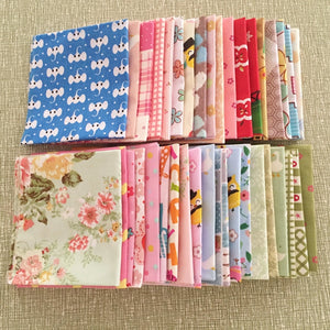 2017 News 10 pieces/lot 20cmx20cm cotton fabrics charm packs patchwork fabric quilting stash tissue cloth no repeat design Twill