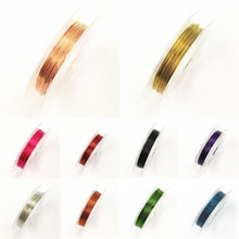 Load image into Gallery viewer, New 0.3mm Sturdy Alloy Copper Wire Beading DIYJewelry Making Wire Cord/String Accessories