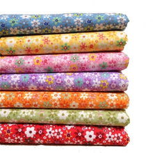 Load image into Gallery viewer, Urijk 7PCs/set 25x25cm DIY Patchwork Fabrics For Sewing The Cloth Baby Quilting Cotton Fabric For Needlework Kid Bedding Textile
