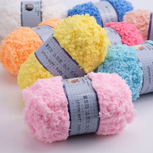 Load image into Gallery viewer, Soft Smooth High Quality Yarn for Baby Hand Knitting Colorful Wool Yarn Crochet Sweater Blanket Hat Scarf Socks DIY Needlework