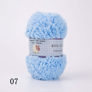 Soft Smooth High Quality Yarn for Baby Hand Knitting Colorful Wool Yarn Crochet Sweater Blanket Hat Scarf Socks DIY Needlework
