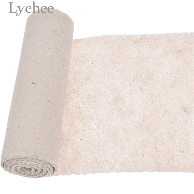 Lychee 5 Yards Embroidery Stabilizer Backing Easy To Tear Paper DIY Sewing Supplies Accessories For Embroidery