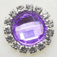 Load image into Gallery viewer, 2018 New Hot 10Pcs 15mm Round Diy jewelry Accessories rhinestones pedestal embellishments caps Decoration For Making Mix Color