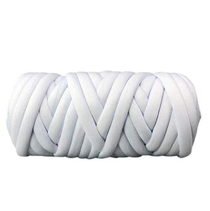 Jeebel 1000g/Ball Wool Chunky Yarn Super Thick Natural DIY Bulky Arm Roving Knit Blanket Hand Knitting Spin Yarn DIY Blanket 60M