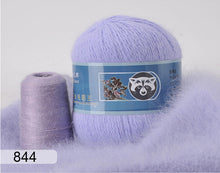Load image into Gallery viewer, 70g Hight Quality 100% Long Hair Winter Mink Cashmere Yarn for Knitting yarn Mink Yarn Mavalya Knitting Mink Yarn