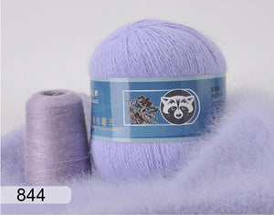 70g Hight Quality 100% Long Hair Winter Mink Cashmere Yarn for Knitting yarn Mink Yarn Mavalya Knitting Mink Yarn