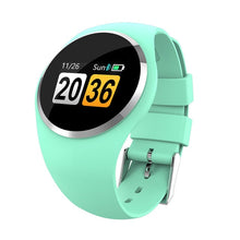 Load image into Gallery viewer, DIGOOR Smart watch women IP67 waterproof Activity tracker Fitness bracelet with Blood pressure Blood oxygen Heart Rate Monitor