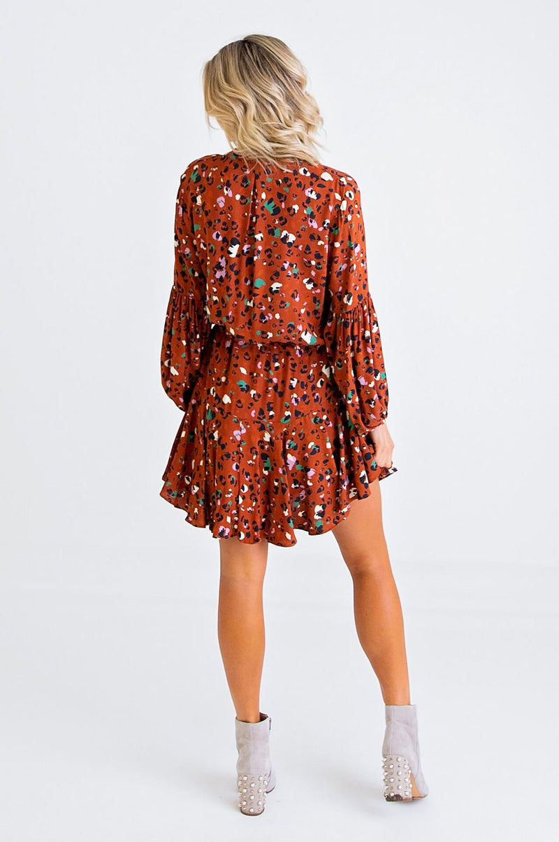 Boho Abstract Dress
