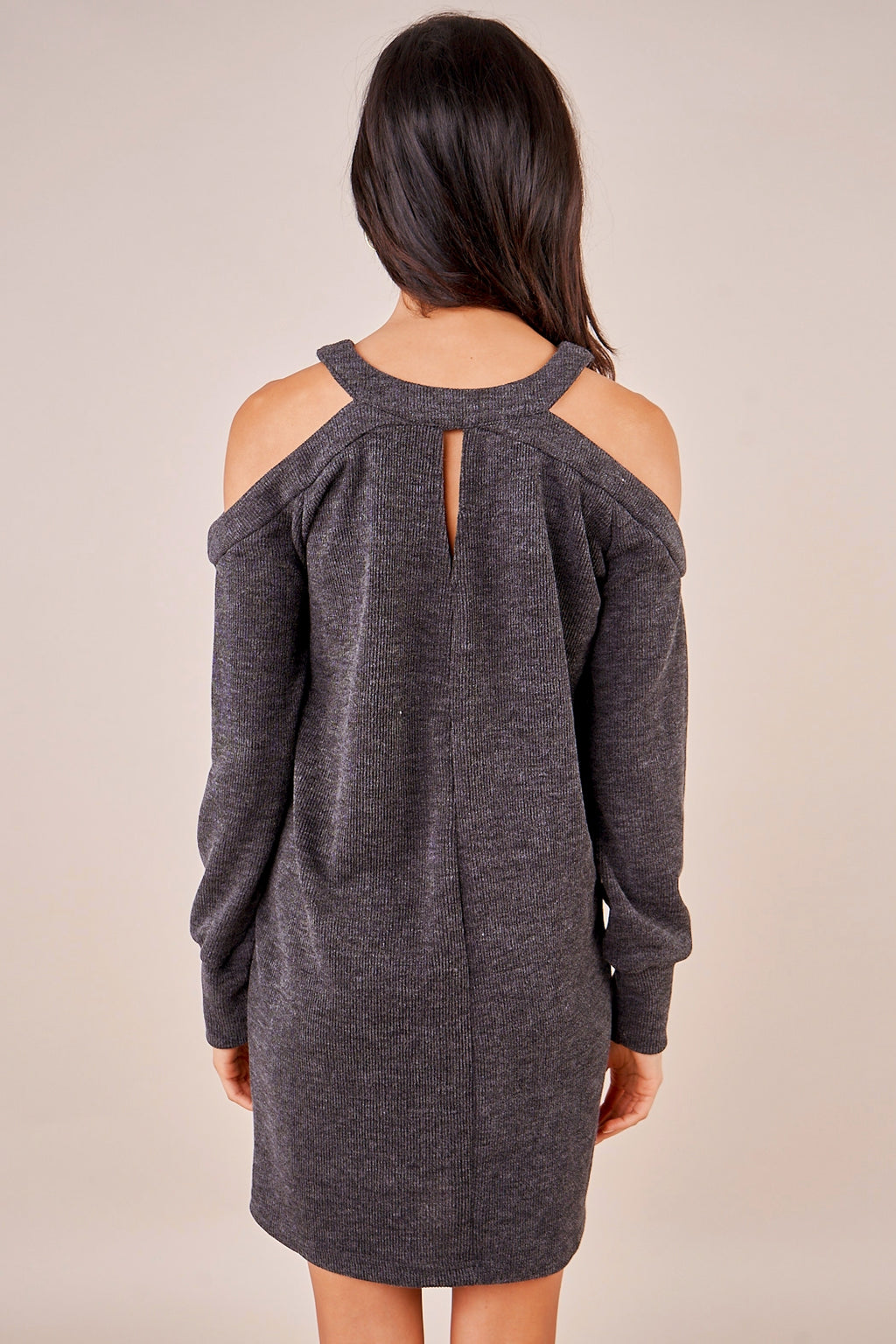 Glory Cold Shoulder Sweater Dress