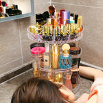 Rotating Crystal Make Up Organiser