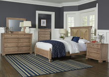 Scotsman Co. Seagrass Bed with Low Profile Poster Footboard - Ensley Fairfield Mattress Co.