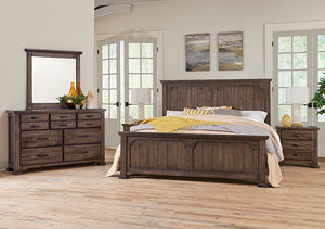 Centennial Solid Grayson Manor Panel Bed