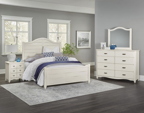 American Maple - Shiplap Bed - Appalachian Hardwood - Ensley Fairfield Mattress Co.